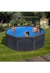 Pool Rund Graphit Kea 240x120 Cm Gre KIT240GF