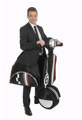 Kostüm Erwachsene Motorrad 6 Giorni Einheitgröße Nines D'Onil D8958