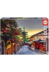 Puzzle 1.000 Pagoda Yasaka Kyoto Japan Educa 17969