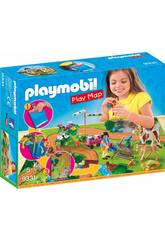Playmobil Play Map Paseo con Ponis 9331