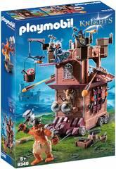 Playmobil Forteresse Mobile avec Nains et Troll 9340