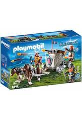 Playmobil Ponygespann mit Zwergenballiste 9341