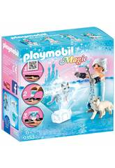 Playmobil Princesse Hiver Playmogram 3D 9353