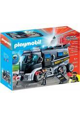 Playmobil Véhicule Mission Spéciale avec Lumière et Son 9360