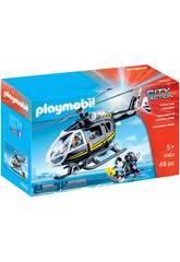 Playmobil Helicóptero de las Fuerzas Especiales 9363