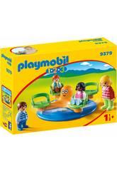 Playmobil 1,2,3 Manège Enfant 9379