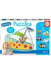 Baby Puzzle Veicoli 2 Educa 18059