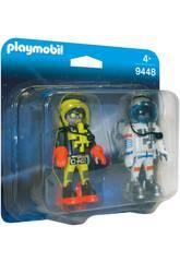 Playmobil Astronautes 9448