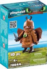 Playmobil Dragons Gambedipesce con tuta da volo 70044