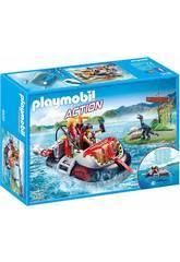 Playmobil Hovercraft Dino com Motor Subaquático 9435