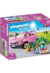 Playmobil Coche Familiar con Parking 9404