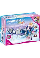 Playmobil Traineau avec Couple Royal 9474