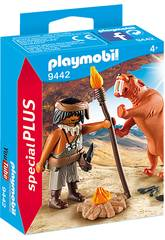 Playmobil Neardental con Tigre Dientes de Sable 9442