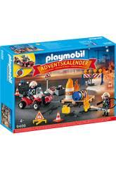 Playmobil Calendrier de l'Avent Opération de Sauvetage 9486