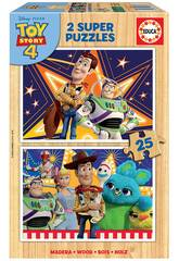 Puzzle 2x25 Toy Story 4 Educa 18083