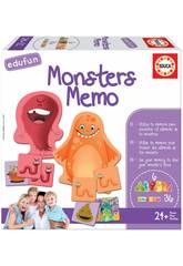 Monsters Memo Educa 18126