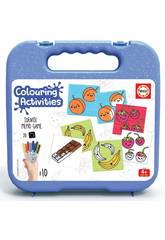 Mala Colouring Activities Identic Identic Memo Game Alimentos Educa 18224