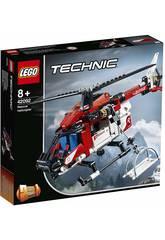 Lego Technic 2 en 1 Hélicoptère de Sauvetage 42092