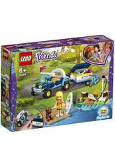 Lego Friends Buggy et Remorque de Stéphanie 41364