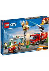 Lego City Fire Sauvetage de l'incendie du Restaurant Burger 60214