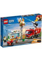 Lego City Fiamme al Burger Bar 60124