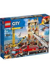 Lego City Fire Brigade de Pompiers du District Centre 60216