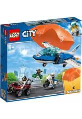 Lego City Police Aérienne Arrêté le voleur Parachutiste 60208
