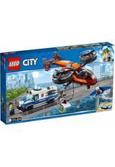 Lego City Police Aérienne Vol du Diamant 60209