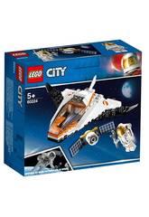 Lego City Space Port Misión Reparar el Satélite 60224