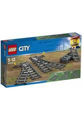 Lego City Changements d'aiguilles 602038