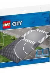 Lego City Curva e Incrocio 60237