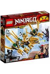 Lego Ninjago Dragão Dourado 70666