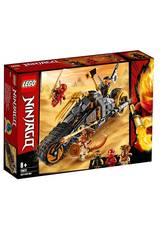 Lego Ninjago Moto Todoterreno de Cole 70672