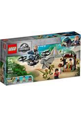 Lego Jurassic World Dilofosaurus en Fuite 75934