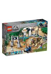 Lego Jurassic World Chaos de Triceratops 75937