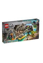 Lego Jurassic World T.Rex Vs Dinosaurio Robótico