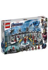 Marvel Super Heroes Sala delle Armature di Iron Man Lego 76125