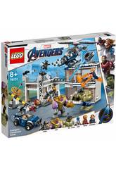 Lego Super Heroes Avengers Kampf im Komplex 76131
