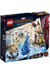 Lego Super Heroes Spiderman Far From Home Ataque de Hydroman 76129