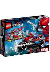 Lego Super Heroes Spider-Man Motorradrettung 76113