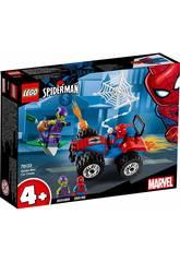 Lego Super Heroes Persecución en Coche de Spiderman 76133