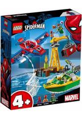 Lego Super Heroes Spiderman Vol de Diamants de Doc Ock 76134