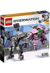 Lego Overwatch D. Va et Reinhardt 75973