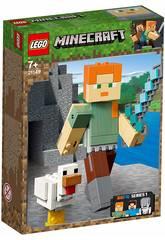 Lego Minecraft Maxi-figure Minecraft di Alex con gallina 21149