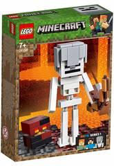 Lego Minecraft BigFig Series 1 Squelette avec Cube de Magma 21150