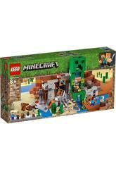 Lego Minecraft La Mina del Creeper 21155