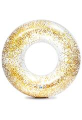 Salvagente Oro Glitter 119 cm Intex 56274
