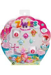 Ziwies Pack 8 Figurinhas Famosa 700014604