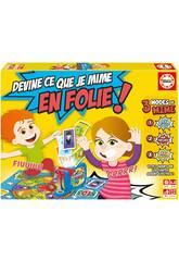 Devine Ce Que Je Mime En Folie Francés Educa 16869
