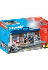 Playmobil City Action Valigetta Centrale della Polizia 5689